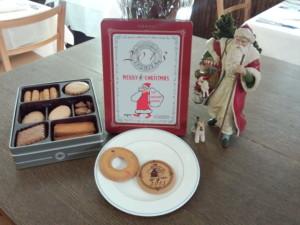 クリスマス・カンパニー オリジナルバージョンの   IZUMIYAのクッキー缶