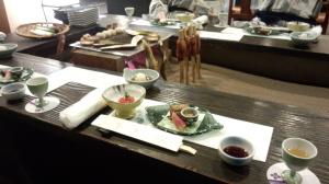 湯守田中やさんの夕食です