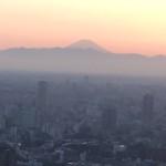 桜色の富士山 きれい♪